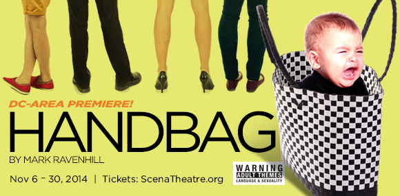 """Handbag"" gets D.C. premiere at Playhouse"