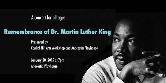 Jan 20: Remembrance Concert to Honor Dr. Martin Luther King, Jr.